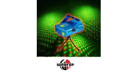HOT TOP MINI1 Лазер міні двохколірний, червоний 100mw + зелений 30mw, феєрверк, зіркова пилюка, мухи, кут 140 градусів