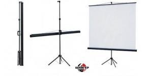 "AV SCREEN 3V100MTV(4:3;100"")Matte White Екран для відеопроектора мобільний"