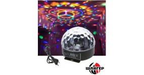 BIG BRILIANT Світлодіодний прилад світлодіоди 6*3Вт RGBWO